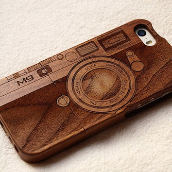 Classic vintage camera design iphone 6 wood case iPhone 6s case iphone 6 6 plus wood case iphone 5 5s 5c case wooden galaxy s6 s5 note5 case