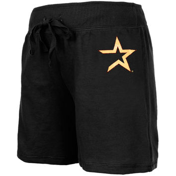 Houston Astros - Glitter Logo Girls Youth Drawstring Shorts