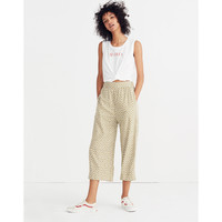 Huston Pull-On Crop Pants in Mini Daisy : shopmadewell pants | Madewell