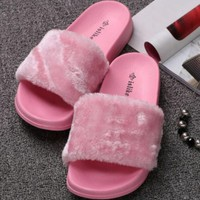 FLASH SALE Fenty Leadcat Fur Slipper Shoes (3- colors)