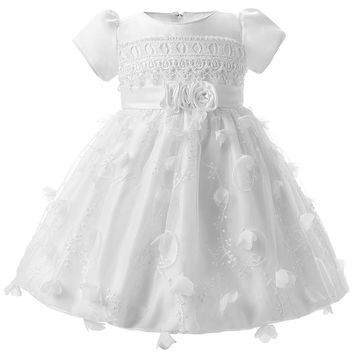 Child Wedding Baptism Clothes Infant Baby Girl Dresses 1 Year Birthday Christening Dress Christmas Gift Costume For Little Baby