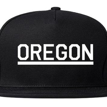 DCK4S2 Kings Of NY Oregon USA State OR Snapback Hat