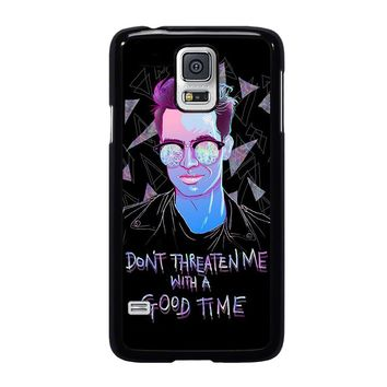 PANIC AT THE DISCO BRENDON URIE Samsung Galaxy S5 Case