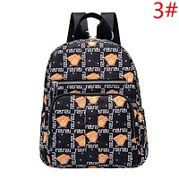 Fendi & Champion & Dior & Versace & Burberry & Givenchy New fashion more letter pattern print couple backpack bag