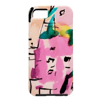 Ginette Fine Art Pink Twink Abstract Cell Phone Case