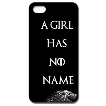 A Girl Has No Name - Direwolf IPhone 55S Case