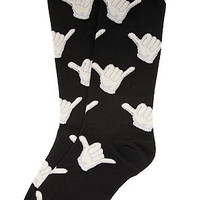 K. Bell The Hang Loose Socks in Black : Karmaloop.com - Global Concrete Culture