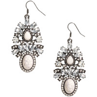 H&M - Earrings - Silver - Ladies