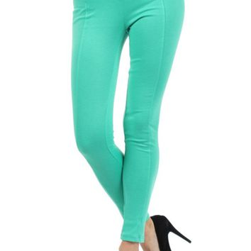 Banded Stretch Workout Yoga Tight Leggings