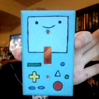 Adventure Time BMO Single Lightswitch Cover