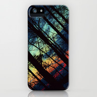 Colourful Sunset iPhone & iPod Case by Inka Peltola