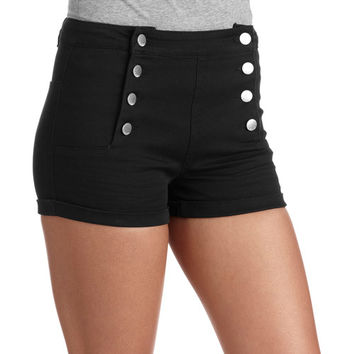 Walmart: ^^No Boundaries Juniors High Waisted Sailor Shorts