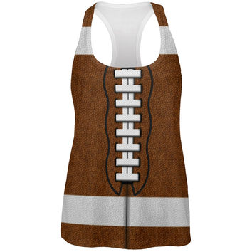Football Costume All Over Womens Work Out Tank Top