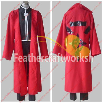 Full Metal Alchemist Edward Eric Cosplay Costumes