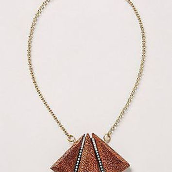 NWT Anthropologie Palmeraie Necklace - By Sandy Hyun - Handmade in USA