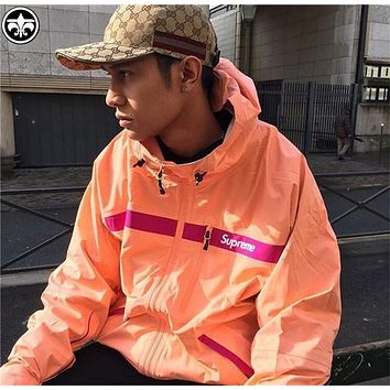 Supreme 2017SS Taped Seam Jacket S-XL