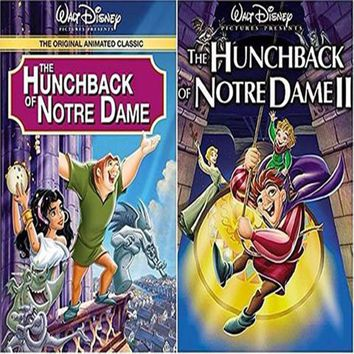 The Hunchback of Notre Dame 1&2 (DVD)