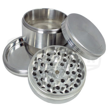 Aerospaced 4 Piece Aluminum Grinder (90mm)