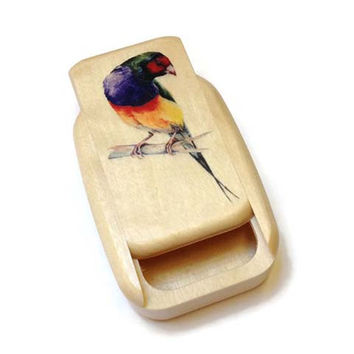 Mike Fisher - Heartwood Creations - Parrot Secret Box
