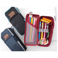 2Young Multi pocket zip around pencil pouch