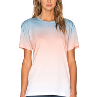 Marc by Marc Jacobs Ombre Jersey Tee in Copen Blue Multi