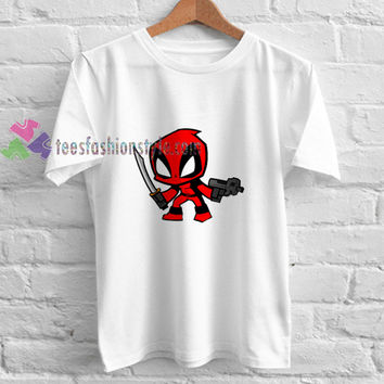 Deadpool Weapon t shirt gift tees unisex adult cool tee shirts buy cheap