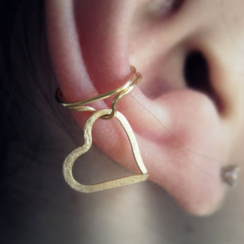 Hanging About Ear Cuff by Artistieke on Etsy