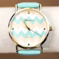 Tickin' Chevron Watch