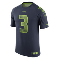 Nike New Day Name and Number (NFL Seahawks / Russell Wilson) Men's T-Shirt Size 2XL (Blue)