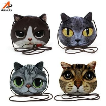 Handbags Small Animal Cat