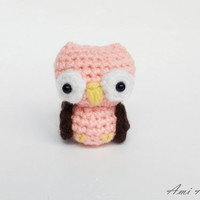Amigurumi Owl - Crochet Animal Plush