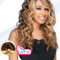 Freetress Equal Bently Deep Invisible Part Lace Front Wig