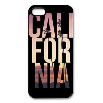 New California Slim Cool Design Hard Plastic Back Protective Mobile Phone Case Cover For Apple iPhone 4 4S 5 5S 5C 6 6 Plus