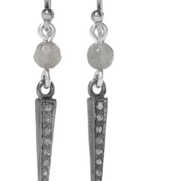 Chan Luu - Silver labradorite earrings