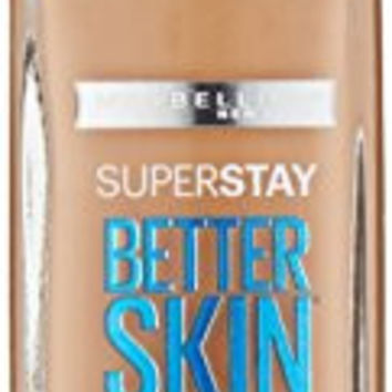 Maybelline New York Superstay Better Skin Foundation, Natural Beige, 1 Fluid Ounce