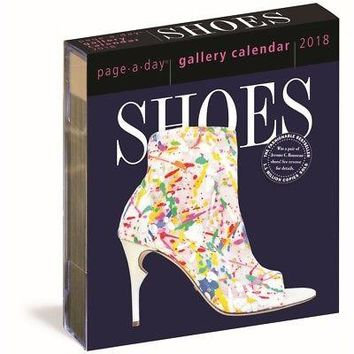 Shoes Gallery Desk Calendar, Fashion by Workman Publishing