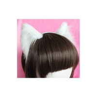 White Realistic Kitten Ears (Smaller Ears!) - Kitten's Playpen