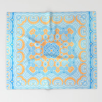 A passage to India Throw Blanket by Octavia Soldani | Society6