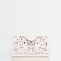 ASOS Laser Cut Clutch Bag at asos.com