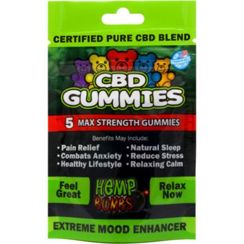 Hemp Bombs' CBD Gummies