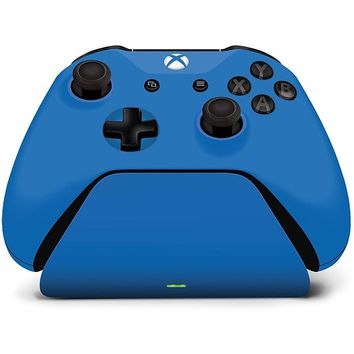 Controller Gear Xbox One Charging Stand Photon Blue (Refurbished)