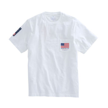 America's Cup Defend The Cup Pocket T-Shirt