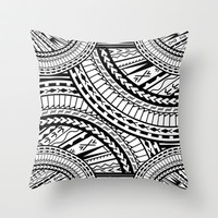 Tribal Design by LGD Throw Pillow by LGD.