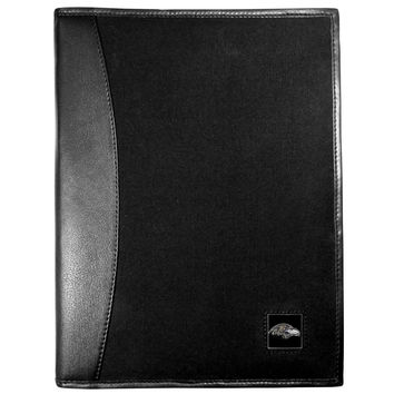 Baltimore Ravens Leather and Canvas Padfolio FPAD180