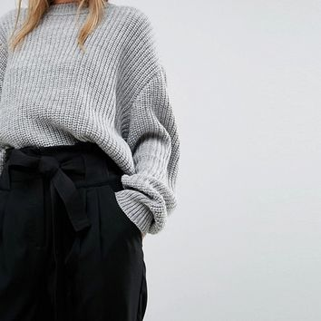Y.A.S Paper Bag Waist Pant at asos.com
