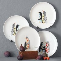 Penguin Friends Dessert Plates | west elm