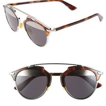 Women's Dior 'So Real' 48mm Sunglasses
