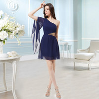 Padded Chiffon Short Occasion Dresses
