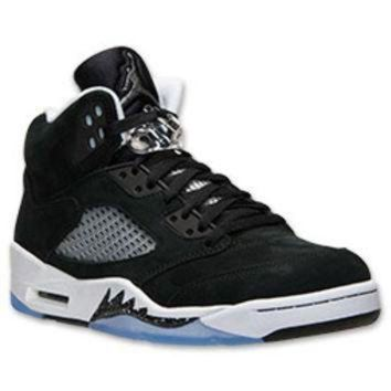 DCK7YE Men's Air Jordan Retro 5 Basketball Shoes