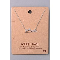 Mountain Peak Must Have Necklace